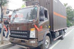 中国重汽HOWO 统帅 154马力 4X2 4.15米单排易燃液体厢式运输车(ZZ5047XRYF341CE145)