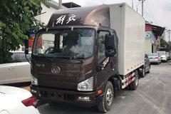 解放 J6F 165马力 3.85米排半厢式轻卡(CA5043XXYP40K2L1E5A84) 卡车图片