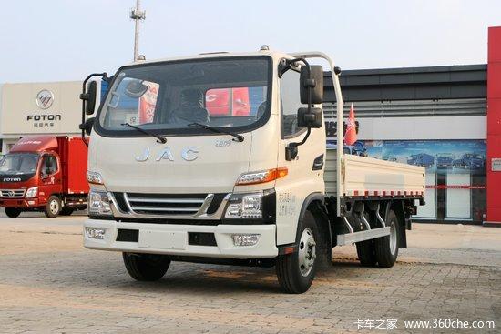 江淮 骏铃V5 130马力 4.18米单排栏板轻卡(HFC1043P91K1C2V)