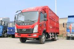 现代商用车 致道300M 143马力 4.18米单排仓栅式轻卡(CNJ5041CCYZDB33V) 卡车图片