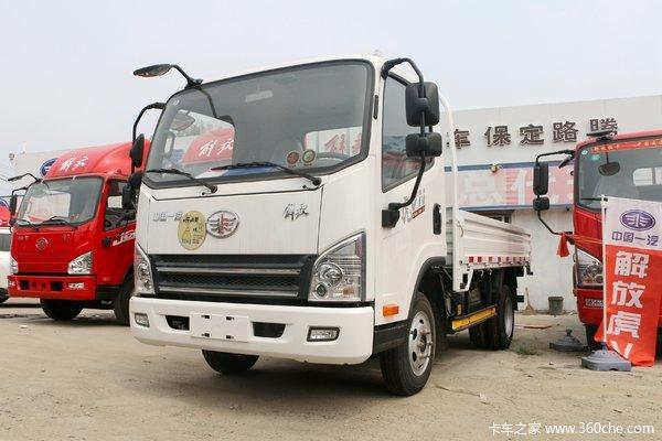 解放 虎VN 130马力 4.2米单排栏板轻卡(CA1040P40K56L2E5A84)