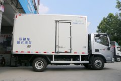 福田奥铃CTS 143马力 4X2 4.085米单排冷藏车(中集牌)(ZJV5040XLCQL)