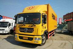 东风 多利卡D9中卡 180马力 4X2 7.68米排半厢式载货车(8挡)(EQ5161XXYL9BDHAC)