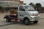 重汽王牌 W1 102马力 4X2 车厢可卸式垃圾车(CDW5030ZXXN2M5Q)