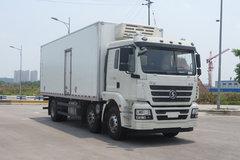 陕汽商用车 轩德X3 285马力 6X2 9.5米冷藏车(SX5250XLCMP5549)
