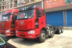 一汽解放 J6M重卡 280马力 8X4 6.2米自卸车底盘(CA3310P63K1LBT4E5) 卡车图片