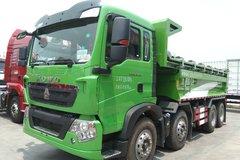 中国重汽 HOWO T5G重卡 340马力 8X4 5.6米自卸车(ZZ3317N286GE1) 卡车图片