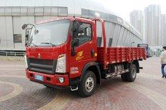 中国重汽HOWO 统帅 重载版 160马力 4.165米单排栏板轻卡(ZZ1047F341CE145) 卡车图片