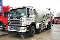 江淮 格尔发K3W 375马力 8X4 混凝土搅拌车(HFC5311GJBP1K6H35S3V)