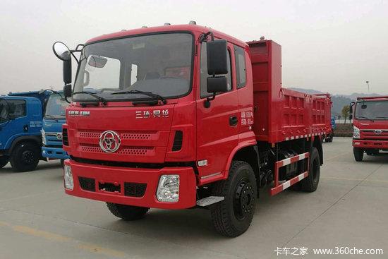 三环十通 昊龙 130马力 4X2 4.2米自卸车(STQ3042L04Y1N5)