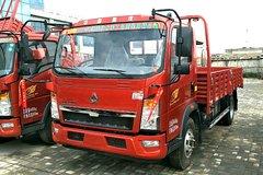 中国重汽HOWO 悍将 170马力 4.165米单排栏板轻卡(ZZ2047G332CE145) 卡车图片