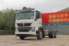 中国重汽 HOWO T5G重卡 340马力 6X4 载货车底盘(ZZ1257N464GE1) 卡车图片