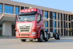 中国重汽 豪瀚J5G重卡 280马力 8X2危险品载货车底盘(ZZ1315N46G3E1) 卡车图片