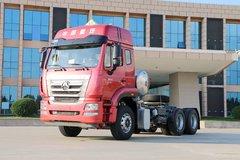 中国重汽 豪瀚J7G重卡 430马力 6X4 LNG危险品牵引车(ZZ4255N3847E1LW)