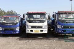 福田 奥铃CTX中卡 154马力 6.2米载货车(BJ1151VKPFG) 卡车图片