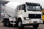 中国重汽 金王子 300马力 6X4 混凝土搅拌车(ZZ5251GJBM3841C1)