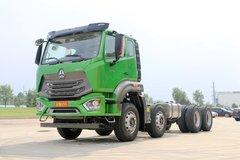 中国重汽 豪瀚N5G重卡 310马力 8X4自卸车底盘(ZZ3315N3063E1) 卡车图片