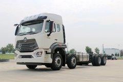 中国重汽 豪瀚N7G重卡 440马力 8X4载货车底盘(ZZ1325V4666E1K) 卡车图片