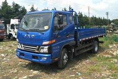 江淮 骏铃V6 170马力 3.85米排半栏板轻卡(3600轴距)(HFC2043P91K1C4V-S)图片