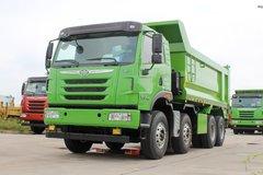 青岛解放 天V重卡 350马力 8X4 5.6米自卸车(CA5310ZLJP2K2L1T4E5A80) 卡车图片