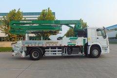中国重汽 HOWO 340马力 4X2 27米混凝土泵车(森源牌)(SMQ5201THB) 卡车图片