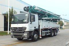 奔驰 415马力 4X2 46米混凝土泵车(森源牌)(SMQ5331THB)