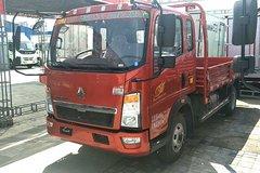 中国重汽HOWO 悍将 95马力 3.85米排半栏板轻卡(ZZ2047F3425E142) 卡车图片