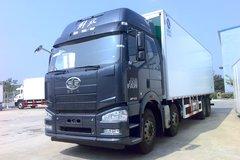解放 J6P 420马力 8X4 冷藏车(冰凌方)(QYK5310XLC5)图片