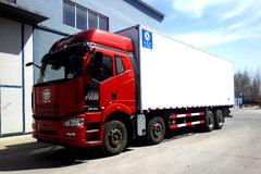 解放 J6P 350马力 8X4 冷藏车(冰凌方)
