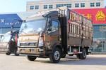 中国重汽HOWO 悍将 156马力 4.15米单排仓栅式轻卡(ZZ2047CCYG3325E145)图片