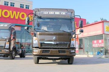 中国重汽HOWO 悍将 143马力 4.15米单排仓栅式轻卡(ZZ2047CCYG3325E145)