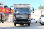 中国重汽HOWO 悍将 物流版 156马力 3.85米排半厢式轻卡