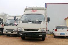 江铃 顺达宽体 豪华款 116马力 4.07米单排仓栅式轻卡(JX5048CCYXG2) 卡车图片