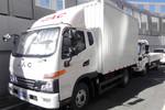 江淮 骏铃V6 130马力 3.82米排半厢式轻卡(HFC5043XXYP91K5C2V)图片