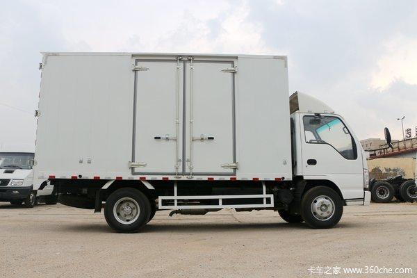 回馈客户温州五十铃100P载货11.10万起