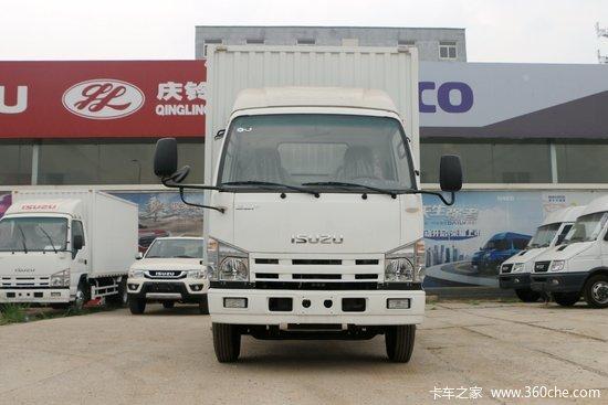 庆铃 五十铃100P 120马力 3.245米双排厢式轻卡(QL5040XXYBUHW)