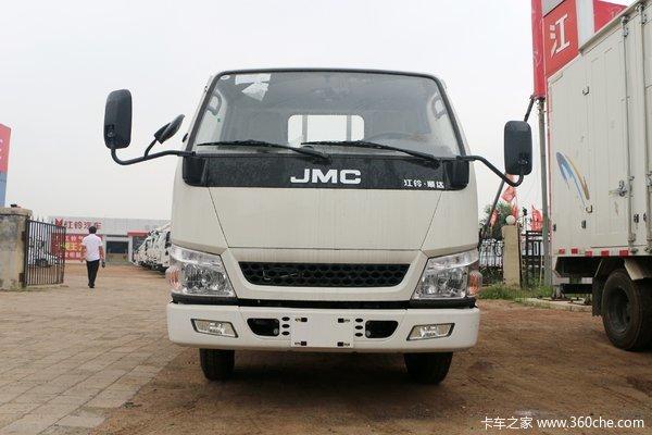江铃 顺达窄体 普通款 116马力 4.22米单排栏板轻卡(JX1041TG25)