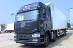 一汽解放 J6P 绿通版 420马力 8X4 9.6米冷藏车(冰凌方)图片