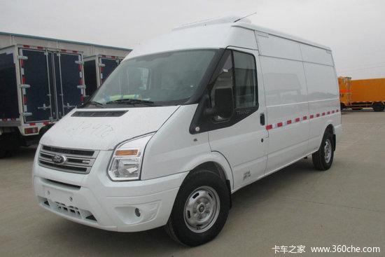 江铃 新世代全顺 155马力 长轴中顶冷藏车(JMT5043XLCXJM)