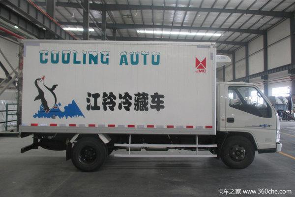 优惠2万泉州江铃顺达窄体冷藏车促销中