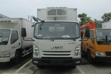 江铃 凯锐800L 4.5T 4米冷藏车(JMT5041XLCFGA2BEV)图片