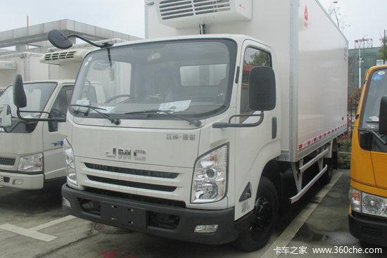 江铃 凯锐800L 4.5T 4米冷藏车(JMT5041XLCFGA2BEV)