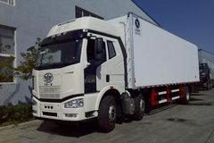 一汽解放 J6M 280马力 6X2 9.6米冷藏车(冰凌方)