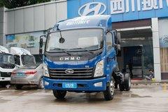 现代商用车 致道500M 130马力 4.165米单排厢式轻卡(6挡)(CNJ5041XXYQDA33V) 卡车图片