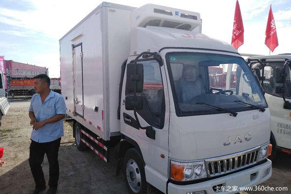 江淮 骏铃E3 88马力 3.7米冷藏车