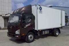 解放 J6F 160马力 4X2 5.13米冷藏车(冰凌方)