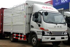 江淮 骏铃V6 170马力 3.85米排半仓栅式轻卡(HFC2043CCYP91K2C4NV)图片