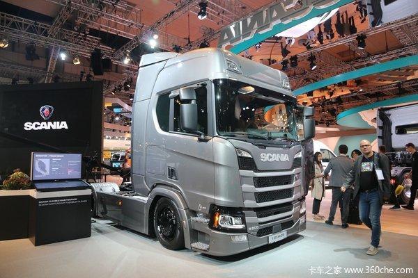 斯堪尼亚 新R系列重卡 500马力 4X2牵引车(型号R500)
