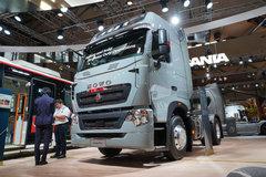 中国重汽 HOWO T7H重卡 500马力 4X2牵引车 卡车图片