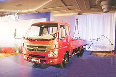 福田 欧马可1系 143马力 4.2米单排栏板轻卡 卡车图片